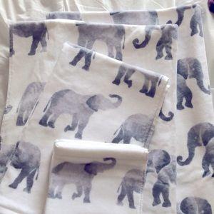 Brand new home goods soft elephant 🐘 bath towels